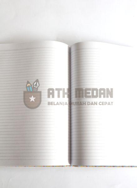 Buku Tulis Folio Hard Cover 200 Lembar Merek Garda $j