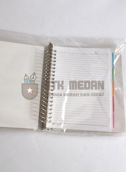Buku Loose Leaf Kecil / Map Binder A5 $j