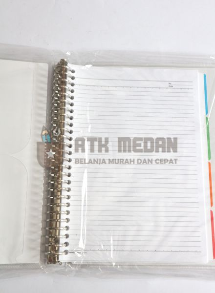 Buku Loose Leaf Besar / Map Binder B5 $j