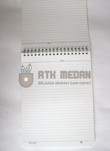 Buku Notes Merek Standard A501 $j