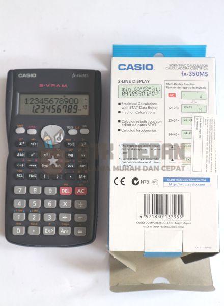 Calculator / Kalkulator CASIO FX 350 MS Scientific $j