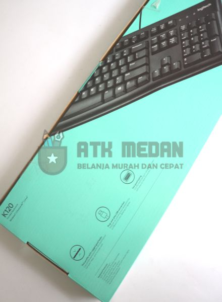 Keyboard Komputer USB Merek Logitech K120 $j