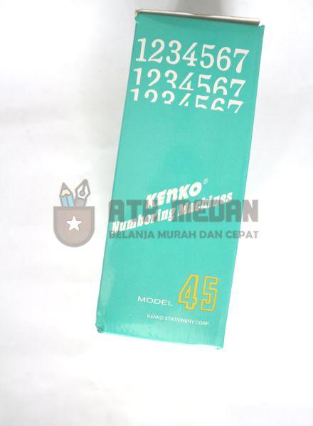 Stempel Nomor Otomatis 6 Digit Merek Kenko $j