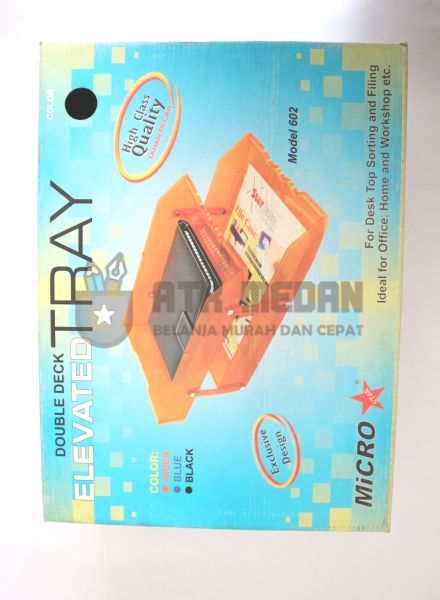 Letter Tray / Elevated Tray 2 Tingkat Model 602 $j