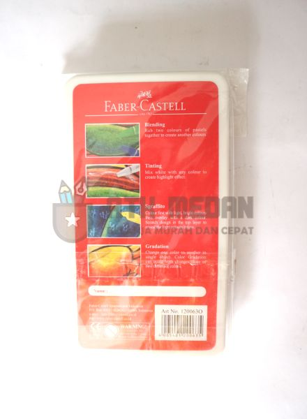 Crayon Oil Pastel Faber Castell Isi 12 $j
