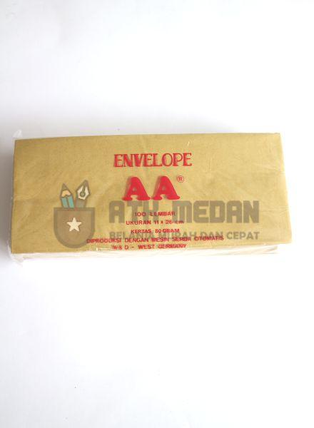 Amplop Coklat AA Uk Dinas (11x26cm)