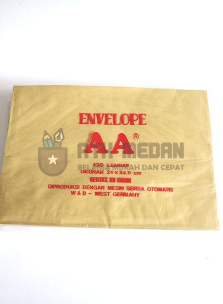 Amplop Coklat AA Uk Folio (24x34,5cm)