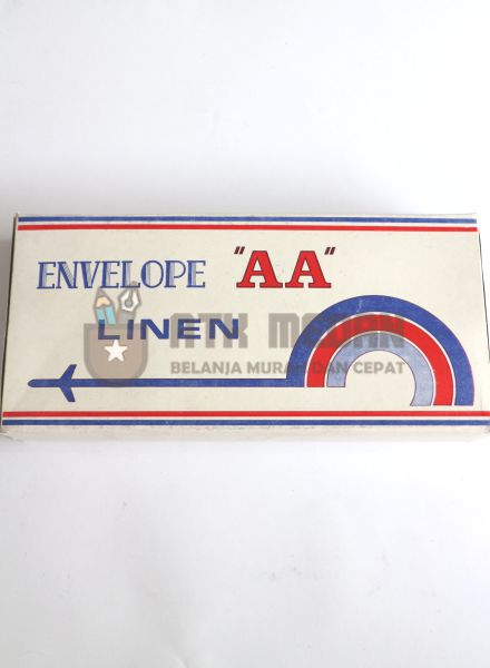 Amplop Linen Panjang 60 grm AA No 90