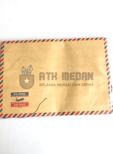 Amplop Coklat Tali 310 Airmail