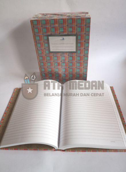 Buku Tulis Quarto Hard Cover 100 Lembar Merek Garda