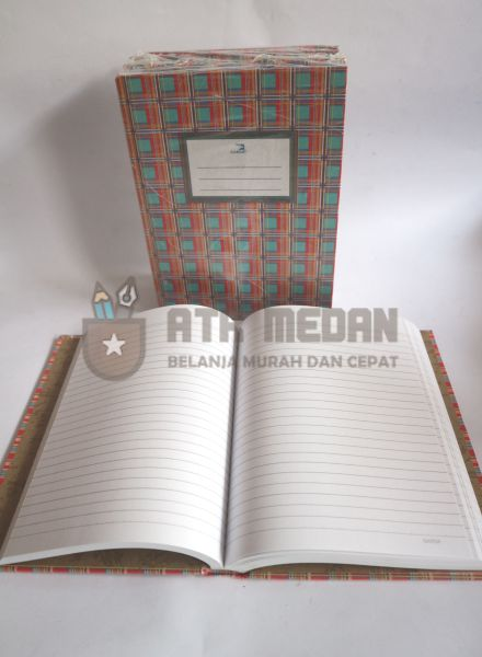Buku Tulis Quarto Hard Cover 200 Lembar Merek Garda