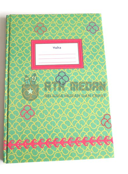 Buku Tulis Folio Hard Cover 100 Lembar Merek Volta