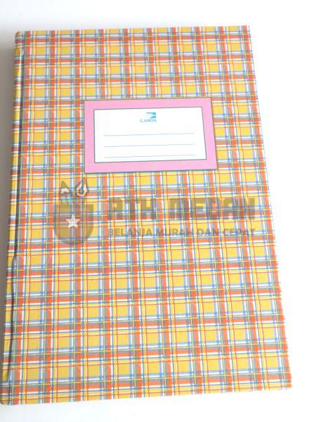 Buku Tulis Folio Hard Cover 200 Lembar Merek Garda