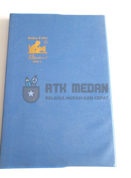 Buku Tulis Folio 200 Lembar Merek Standard