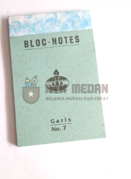 Buku Notes No 7 Merek Obor