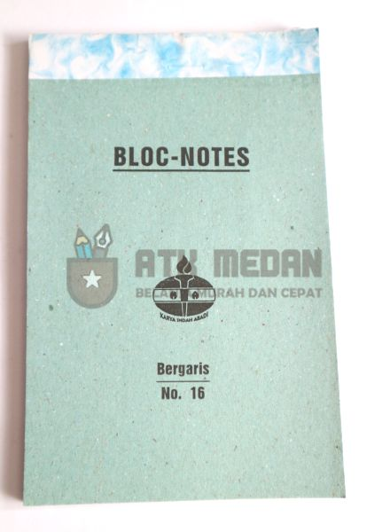 Buku Notes No 16 Merek Obor