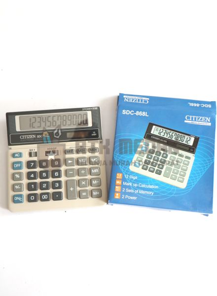 Calculator / Kalkulator Citizen 868 L 12 Digit top