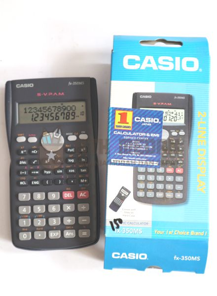 Calculator / Kalkulator CASIO FX 350 MS Scientific
