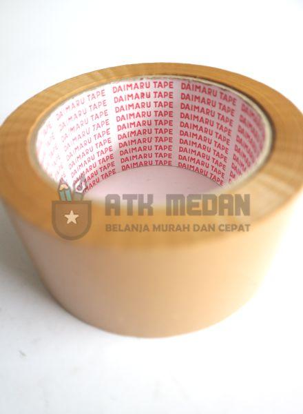 Isolatip / OPP Bening / Coklat 2 Inch Merek Daimaru