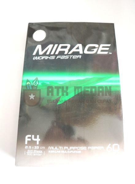 Kertas HVS F4 60 Gsm Merek Mirage