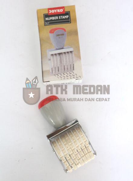 Stempel Nomor / Number Stamp Merek Joyko