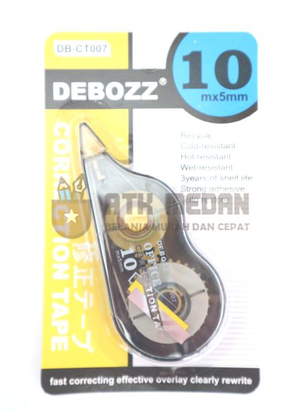 Tipp Ex / Correction Tape Tarik Merek Debozz