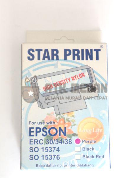 Pita ERC 30/34/38 Merek Star Print
