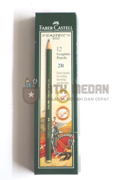 Pensil Kayu Faber Castle 2B