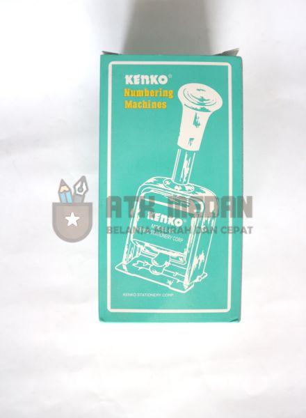 Stempel Nomor Otomatis 6 Digit Merek Kenko