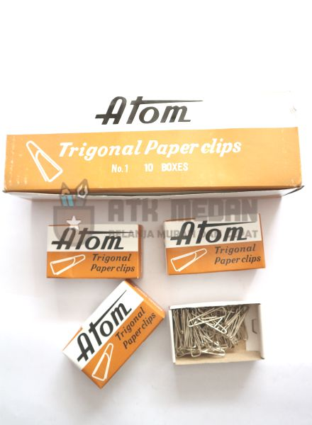 Paper Clips No 1 Merek Atom