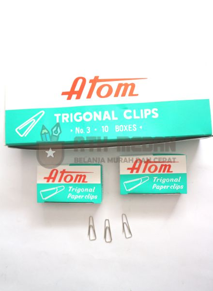 Paper Clips No 3 Merek Atom top