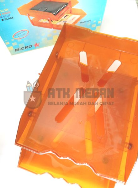 Letter Tray / Elevated Tray 2 Tingkat Model 602 top