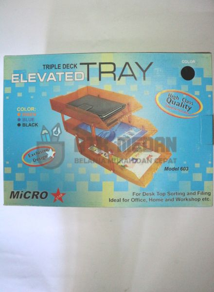 Letter Tray / Elevated Tray 3 Tingkat Model 603