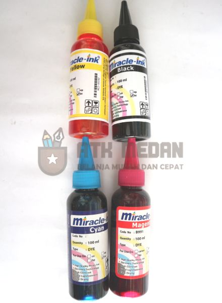 Tinta Printer Merek Miracle Ink HP