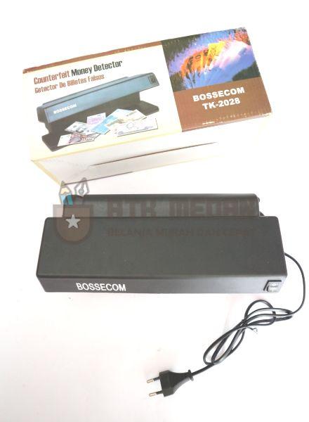 Counterfeit Money Detector / Deteksi Uang Palsu Bossecom TK-2028