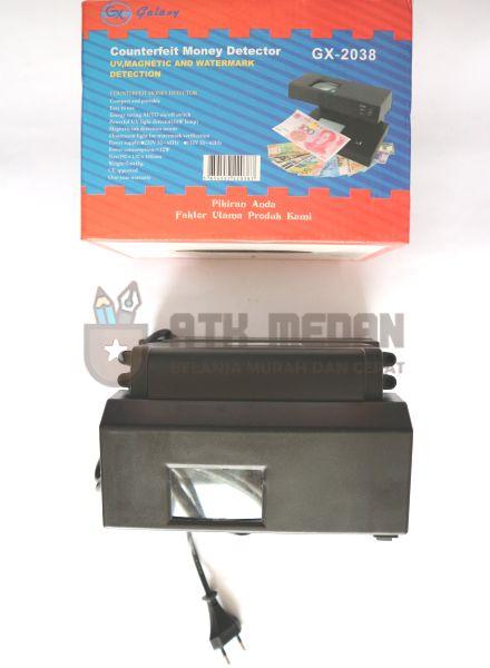 Counterfeit Money Detector / Deteksi Uang Palsu Galaxy GX 2038
