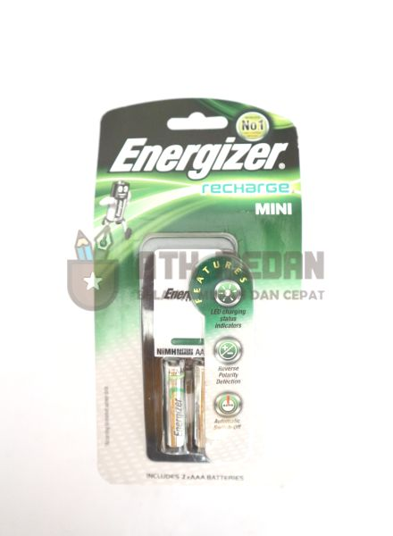 Batere Cas Set / Rechargeable Battery Set Energizer