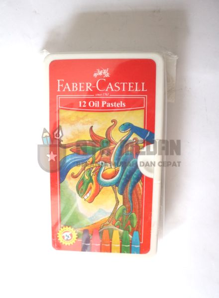 Crayon Oil Pastel Faber Castell Isi 12