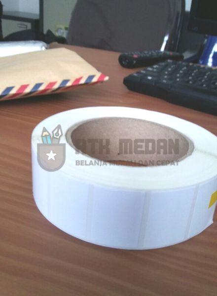 Label Stiker Barcode 50x30mm 10 rol